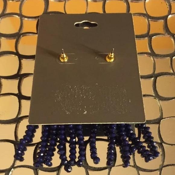 Sugarfix BAUBLEBAR Rhinestone Tassel Earrings